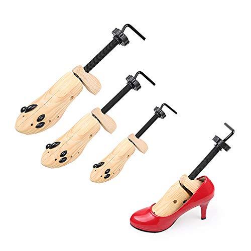 Wenhu Schuhe Baum Shaper Rack Praktische Wohnungen Pumps Stiefel Expander Baum Männer Frauen Stiefel Kleiderbügel Schuhe,L -