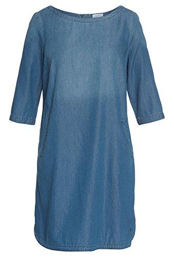 PEPPERMINT Plus Size - Jeanskleid aus Tencel-Mix für Damen Jeans-Kleid,Große Größen,Sommer,kniebedeckt,3-4 (Size Mint Kleid Plus)
