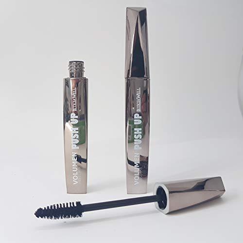 Luxus-Mascara, Wimperntusche für Wimpernverlängerungen geeignet - wasserlöslich (Mascara Silber Wimpern)
