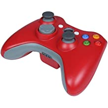 Stoga STB02 Xbox 360 Controller Xbox 360 Wireless Controller neue drahtlose entfernten Pad-Game-Controller f¨¹r Microsoft Xbox 360 PC Windows 7 XP Whit Joypad-rot