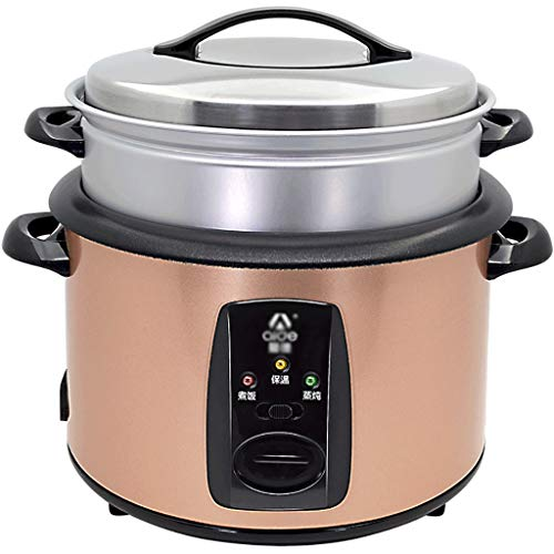 Rff Reiskocher (6,5 Liter / 1000 W / 220 V) Home Intelligent Insulation Multifunktions-Qualität Inner Pot Spoon Steamer und Messbecher Schlafsaal Kleingeräte bieten Platz für bis zu 8 Personen