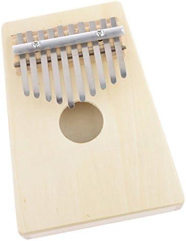 Blanc 10 Notes InstruHommes t Pouce De Piano Vintage Wooden Facile à Construire Et Jouer | De Qualité