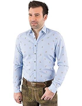Hatico Mode Pure Trachtenhemd Herren Langarm C52606-21392 170