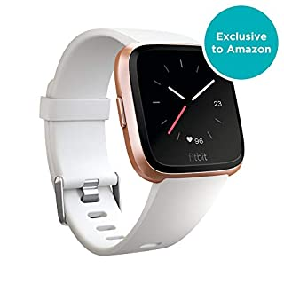 Fitbit Versa Health & Fitness Smartwatch with Heart Rate, Music & Swim Tracking, Rose Gold/White (B07FNY6FN6)   Amazon price tracker / tracking, Amazon price history charts, Amazon price watches, Amazon price drop alerts