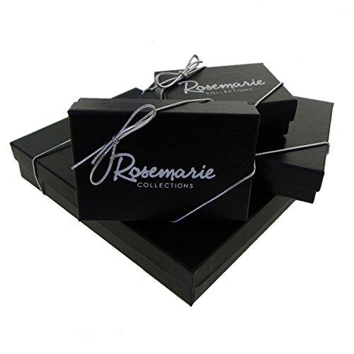 "Rosemarie Collections Femme mince Crochet Bracelet ""Let It Go"" Rhodium"