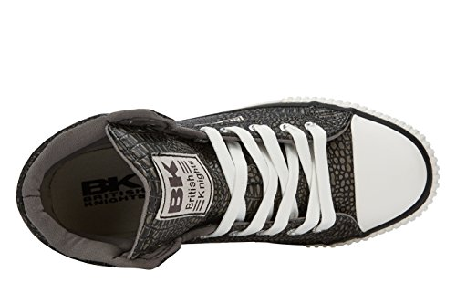 British Knights DEE DONNE ALTE SNEAKERS Grigio scuro
