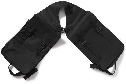 Doppelpacktasche, schwarz