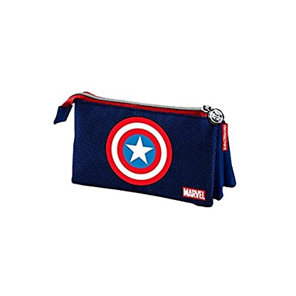 Portatodo Vengadores Avengers Marvel Shield triple