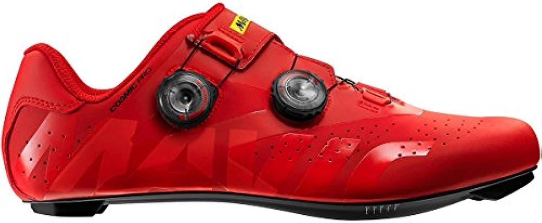 Mavic Cosmic Pro - Zapatillas - Rojo Talla del Calzado UK 12 | EU 47 1/3 2019  -