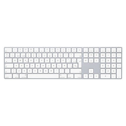 Apple MQ052Y/A Magic - Teclado, Plata