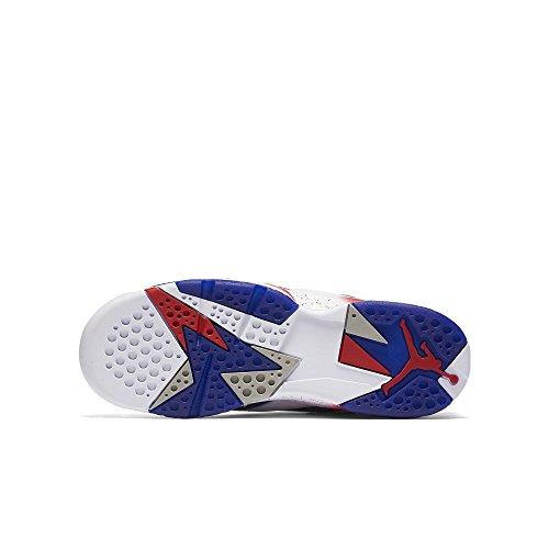 Nike Air Jordan 7 Retro Bg, Scarpe da Basket Uomo wht, mtlc gld cn-dp ryl bl-fr r