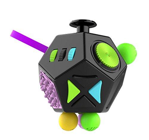 Preisvergleich Produktbild Dekompression Rubik es Cube Dekompression Artefakt Dice Vent Geschenk Spielzeug 12-seitige Anti-Angst ,  4