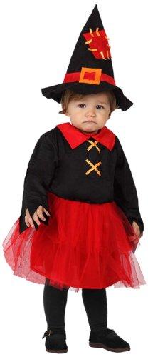 ATOSA 8422259148067 - Verkleidung Hexe, Größe: 0-6 Monate (Baby Hexe Kostüm 3 6 Monate)