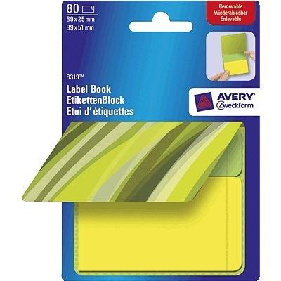 Avery 8319 - Etiqueta autoadhesiva (89 mm)