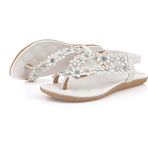 Bovake Sandales Pour Femme Blanc