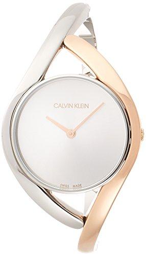 Calvin Klein Orologio Analogico Quarzo Donna con Cinturino in Acciaio Inox K8U2SB16