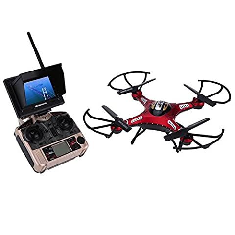 GoolRC JJRC H8D 5.8G FPV RTF RC Quadrocopter Headless Mode / One Key Return Drone mit 2.0MP Kamera FPV Monitor