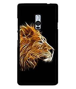 Fuson Designer Back Case Cover for OnePlus 2 :: OnePlus Two :: One Plus 2 (Special Effects King Awesome Men Man Boys)
