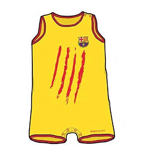 FC Barcelona Senyera Barboteuse bébé sans manches Taille 3 mois 3801730c301
