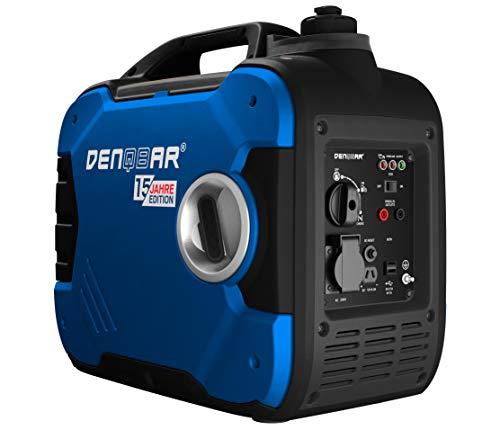 DENQBAR 2000 W Inverter Stromerzeuger Notstromaggregat Stromaggregat Digitaler Generator benzinbetrieben DQ2000