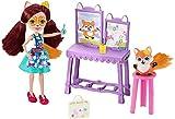 Enchantimals Coffret  L'Atelier de Peinture de mini-poupée Felicity Renard et...