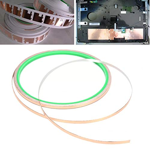 PIKA PIKA QIO Kupferfolienband EMI-Abschirmung Hitzebeständigkeit Conductive Adhesive 1/8