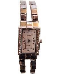 Reloj analógico de señora Cadena Piedras en el Bisel- Christian Gar - Mod.4741