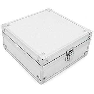 AR Carry Box® Kleine Alubox Alukoffer Aluminium Koffer Werkzeugkoffer leer 200x200x90mm Alu/Silber