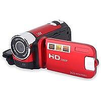 BigPlayer Video Camera Camcorder, Portable Vlogging Camera Recorder Full HD 1080P 16MP 2.7 Inch 270 Degree Rotation LCD…