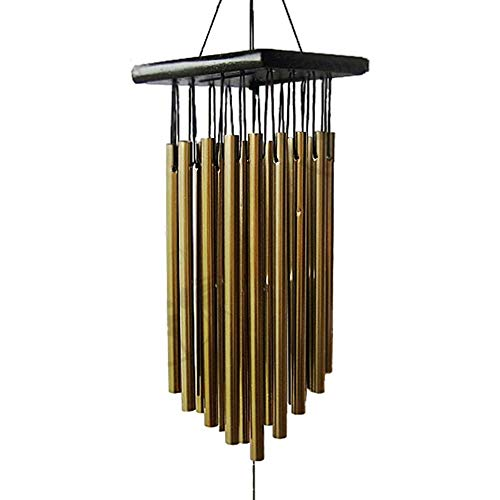 LSX Home Decoration Wind Chime-Holzhandwerk Creative Personality Metal Wind Chimes Housewarming Geschenke Hochzeitsgeschenke Home Decoration Garden Art