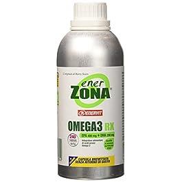 Enerzona Enervit, Integratore Alimentare per il Controllo del Colesterolo e Trigliceridi, Omega 3 RX – 240 Capsule