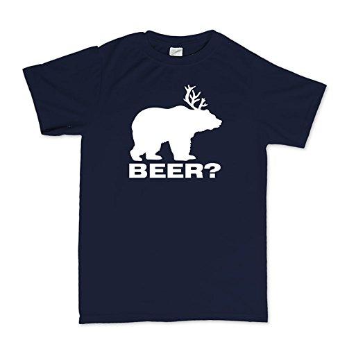 Deer Bear Beer Moose Elk Hunting Funny T-shirt