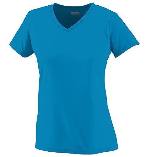 Augusta femmes de l'humidité col en V pour homme Power Blue