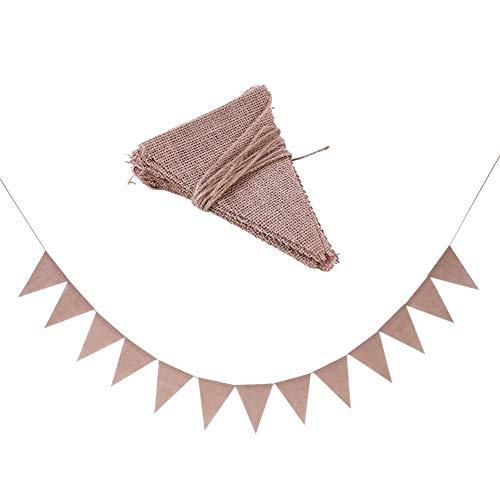 Dreieck Banner DIY Dekorationen für Party Feier Hängende Dekoration Foto Prop 13Pcs ()