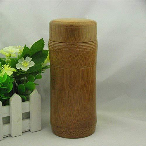 Lnyy Bambusprodukte, Tee-Dosen machen verkohlt Thread Tee Tasse 301-400ml