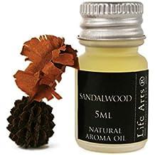 Profumo Aceite de aroma Madera de Sándalo Botella de 5cc Fragancia Natural (4cm ...