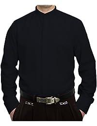 Pierre Martin Designer Herren Stehkragen Hemd Hochzeit Business Verdeckte  Knopfleiste S9 Langarm Gr. M - 584ff0d303