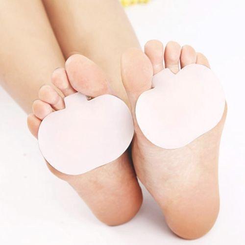 Preisvergleich Produktbild quickcor (TM) 10pair Gel Mittelfußpolster Wunde Ball Fuß Füße Schmerzen Kissen Vorderfuß Einlegesohlen unterstützen Orthopädische Einlegesohlen