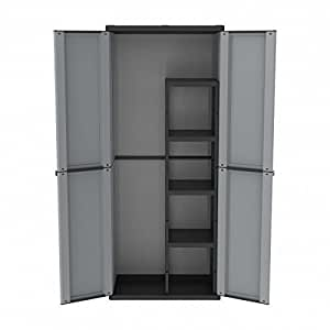 armoire haute de jardin en plastique jardin. Black Bedroom Furniture Sets. Home Design Ideas