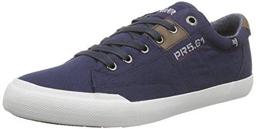 s.Oliver 13614, Baskets Basses homme Bleu - Bleu (NAVY 805)
