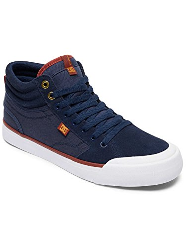 DC Shoes  Evan Smith Hi, Espadrilles Homme Bleu - Navy/Gold