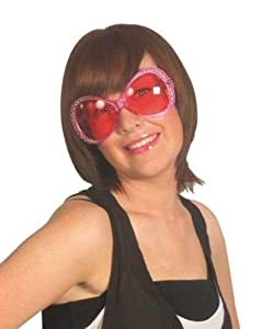 PINK DIAMANTE SHARPAY/HEN PARTY SPECS/GLASSES (accesorio de disfraz)