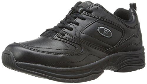 Propet Eden Cuir Chaussure de Marche Black