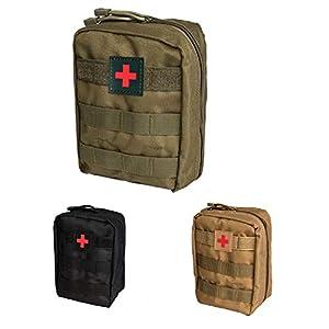 Krisvie Tactical EMT Medizinische Tasche 1000D Nylon Utility Bag mit Erste-Hilfe-Patch