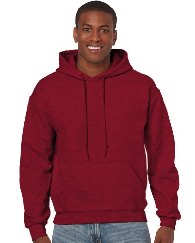 Gildan Heavy Blend Erwachsenen Kapuzen-Sweatshirt 18500 XL, Antique Cherry Red (Mädchen Cherry Jacke)