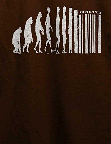 Evolution Digital T-Shirt Braun
