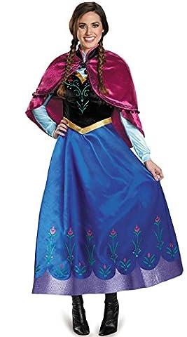 Monissy Kostüm Für Karneval Prinzessin Kleid Anna