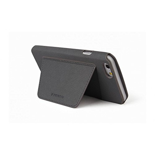 Tucano iph64W-g Handy-Schutzhülle–Hüllen für Mobiltelefone (67x 7x 137mm) grau grau