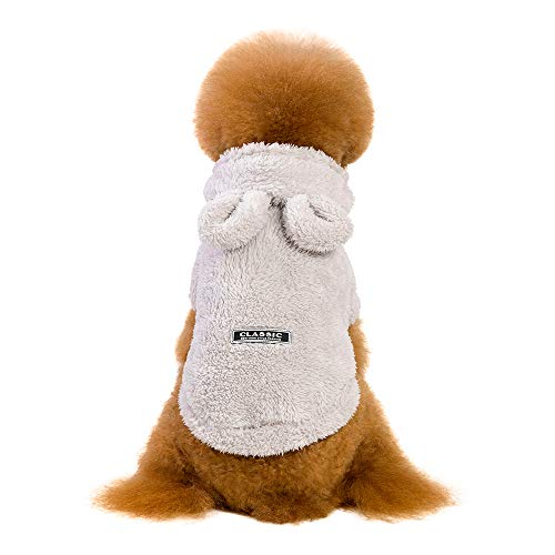 Dragon868 Hund Mantel Komfortable PET Cat Puppy Warm Winter Cotton Kleidung Fashion Cartoon Bear Zwei-Legierte Kleidung