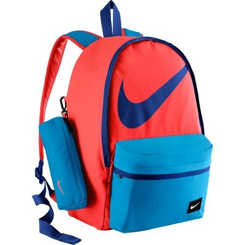Nike-Kids-HALFDAY-Colorful-Sporty-Bookbag-Mochila-con-bolsillo-estuche